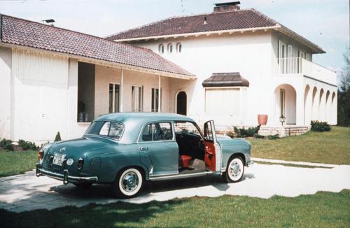 Die Zierer Villa in den 50ern